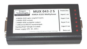 Multiplexer NMEA MUX043-2 S with integrated dongle