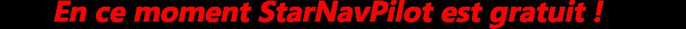 StarNavPilot logiciel de navigation gratuit